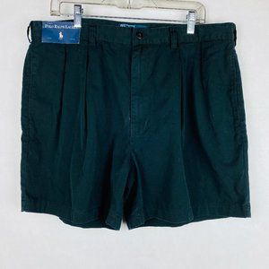 Polo Ralph Lauren Andrew Pleated Front Blue Shorts